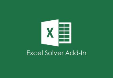 Microsoft Excel Solver Add-In for What-If Analysis