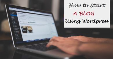 How to start a Blog in 2017 Using WordPress