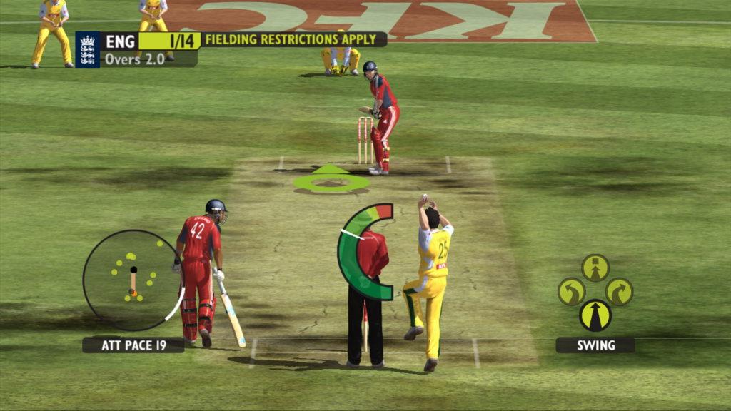 Ashes Cricket 2009 - Batting