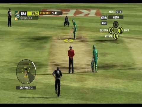 Ashe Cricket 2009 - Batting