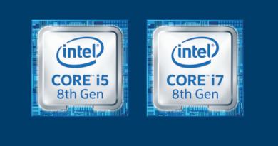 8th gen intel core processors