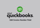 How to edit Quickbooks Online Invoice Number Field