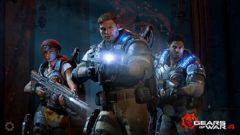 gears of war 4 - 8th Gen intel Core processors