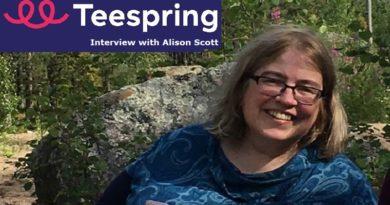 Alison Scott - Teespring Bestseller - Interview