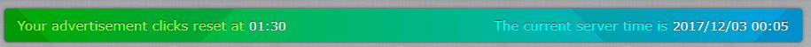 Neobux server time clicks reset