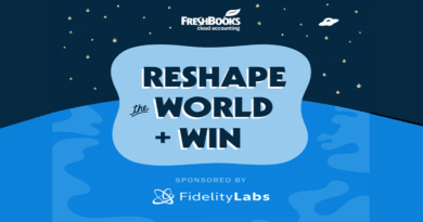 Reshape the world challenge + win - FreshBooks