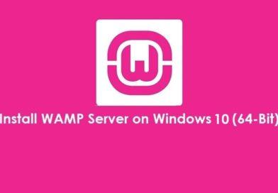 How to Install WAMP server in Windows 10 64 bit