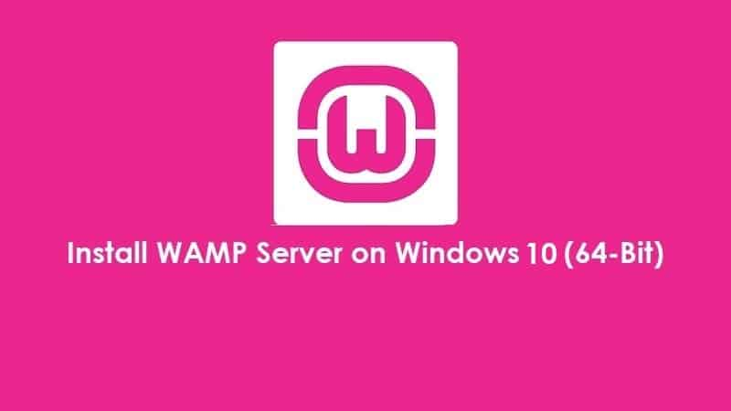 How to Install Wamp Server in Windows 10 - The Usual Stuff