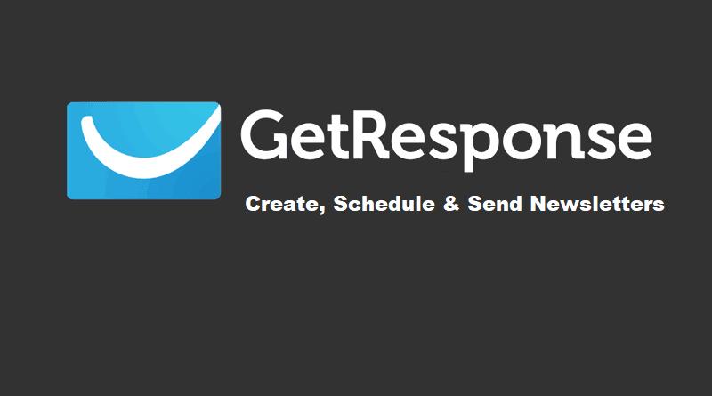 GetResponse - Create, Send Newsletter-min
