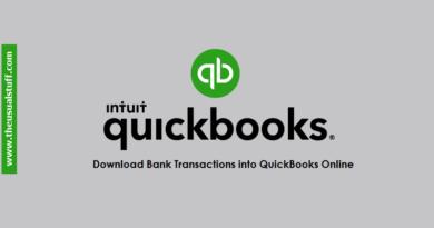 Import Transactions into QuickBooks Online