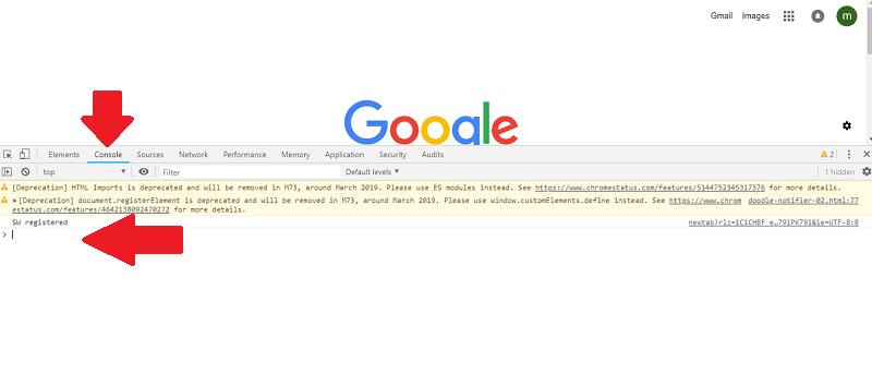 Google Chrome Developers Tools Ctrl+Shift+i