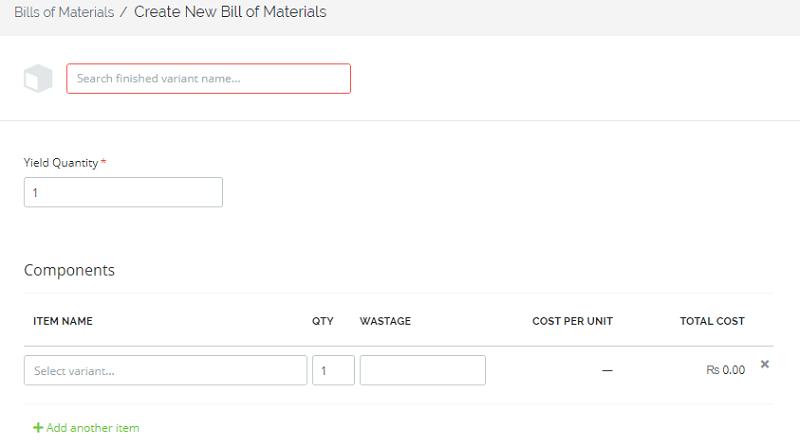 TradeGecko Bills Of Materials 1