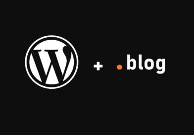 Wordpress Free .blog subdomain