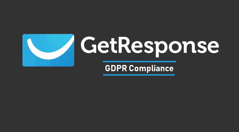 GetResponse - GDPR Compliance