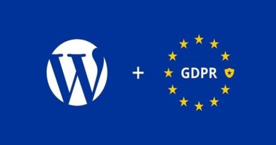 WordPress Blog GDPR Compliant